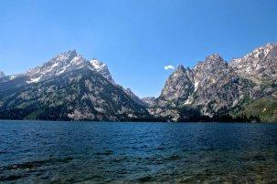 Across Jenny Lake.